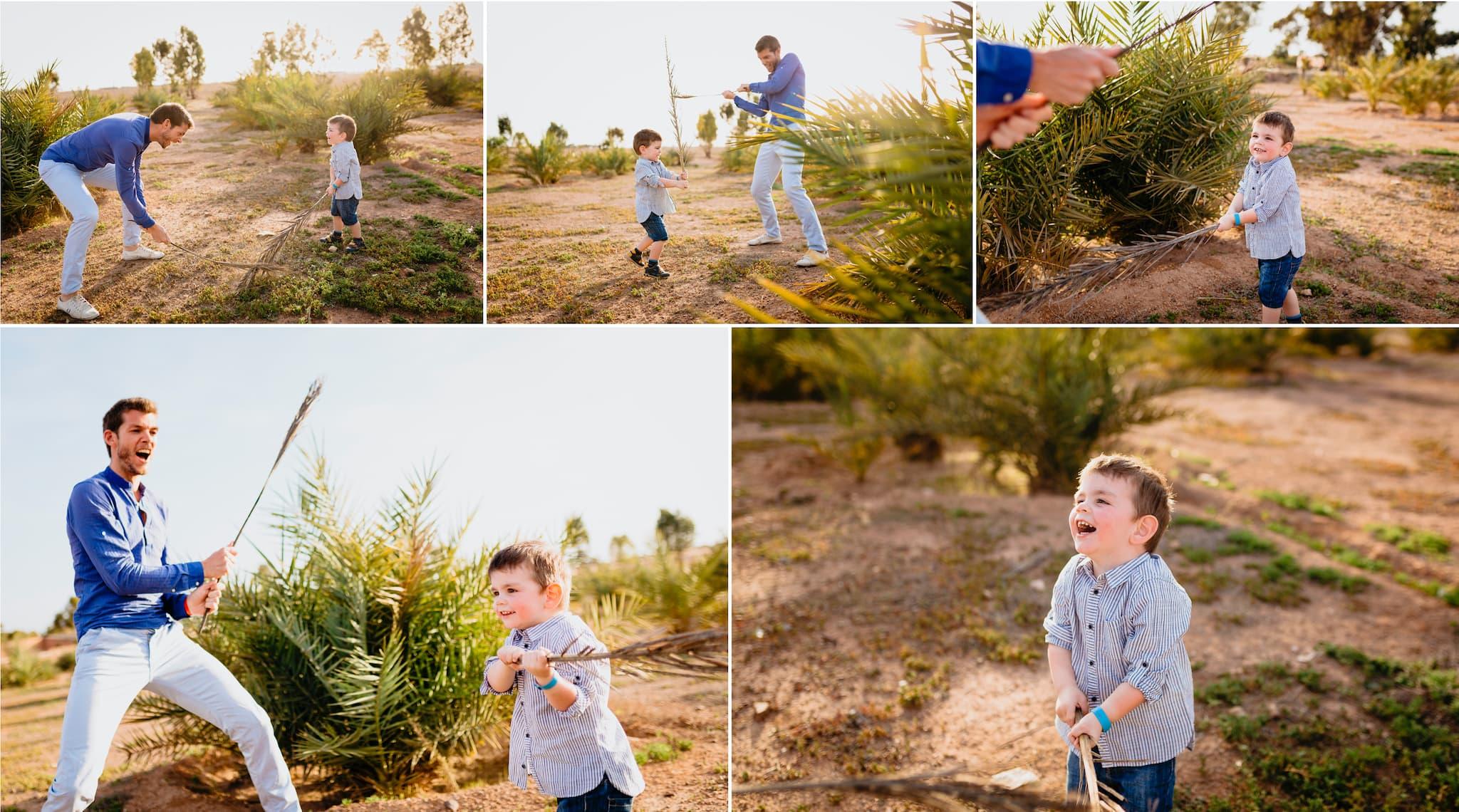 père et fils ; photographie ; souvenirs ; photographe ; maroc