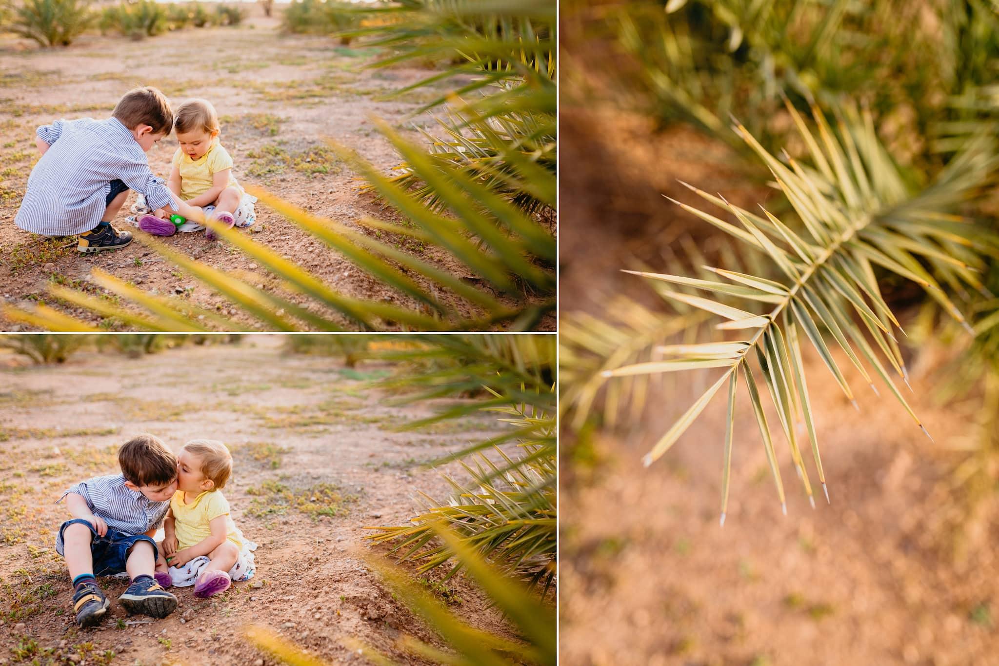 marrakesh ; maroc ; photographe ; frère et soeur