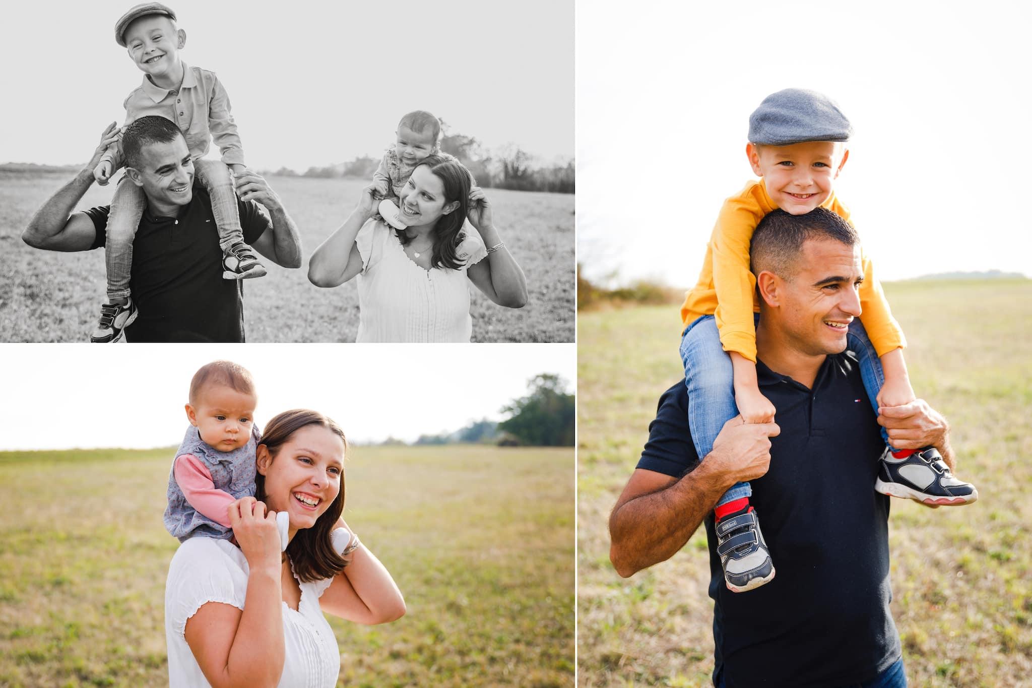 photographe de famille ; photographe de mariage