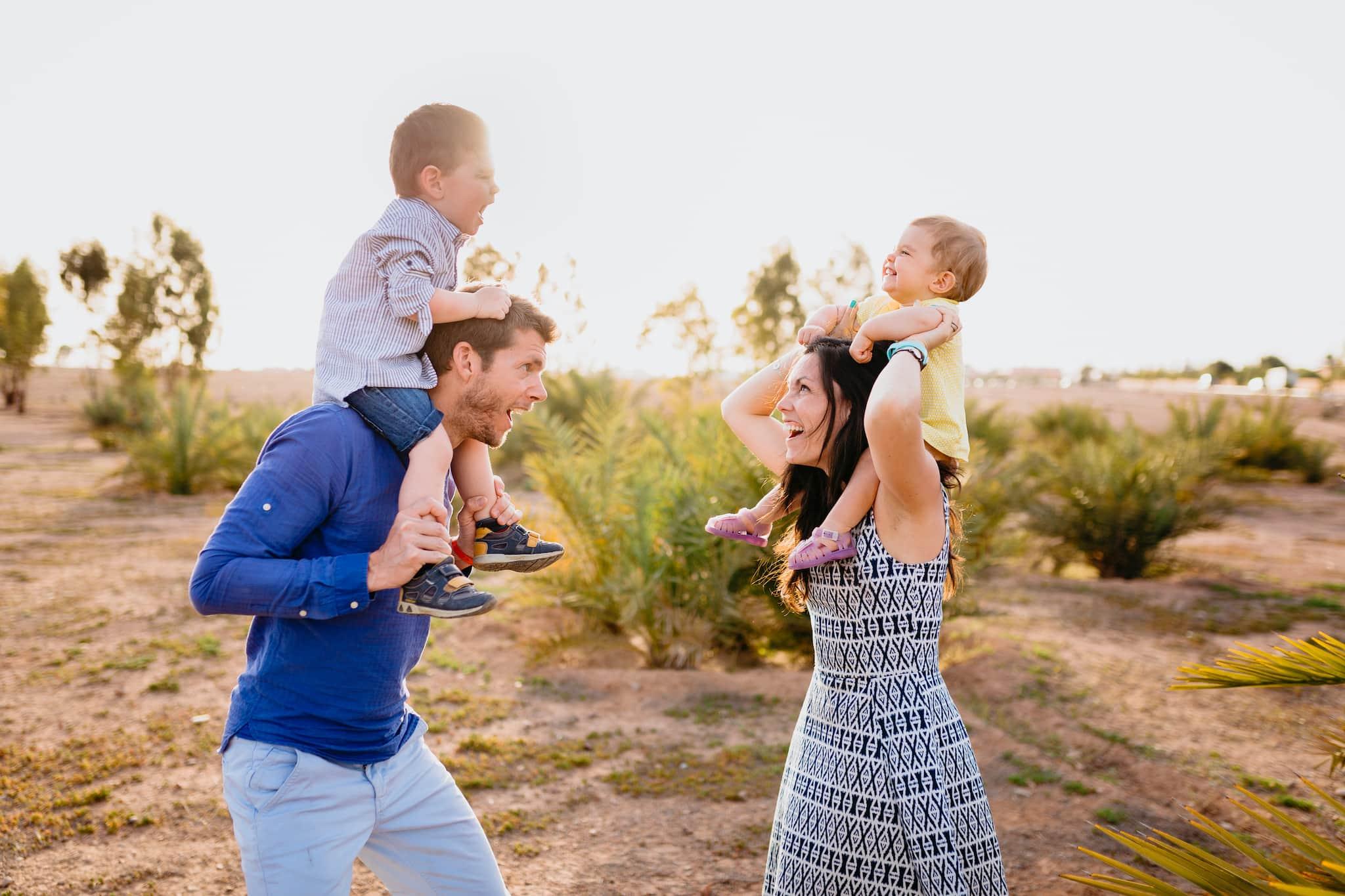 portrait de famille ; shooting de famille