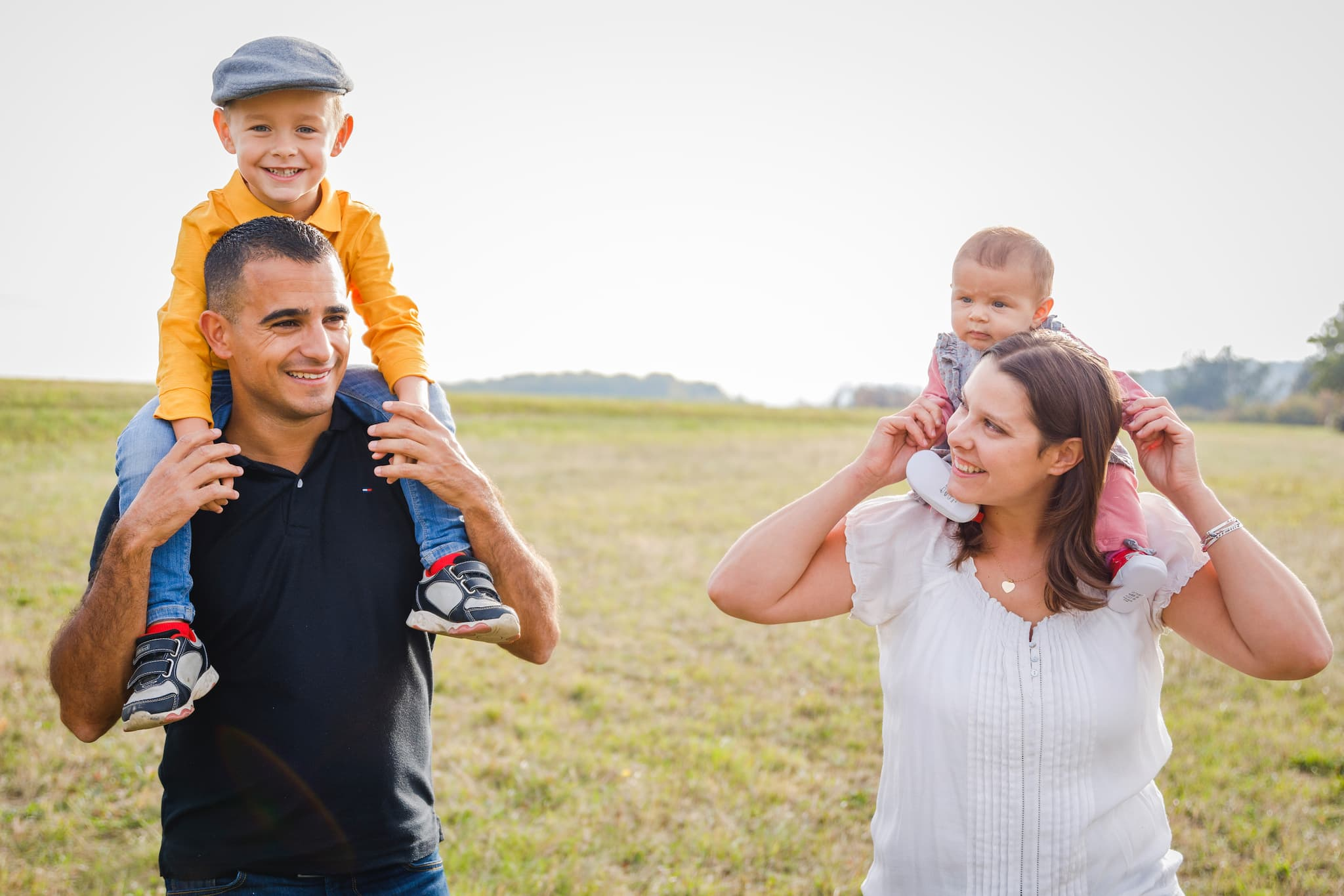 photographe passionné ; photographe patient avec les enfants